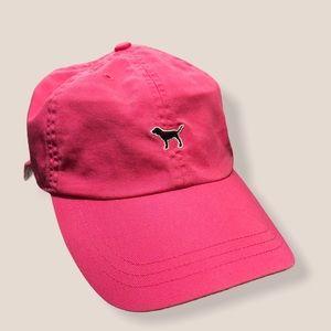 Pink Victoria's Secret Baseball Cap